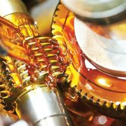 metalworking industry. tooth gear cogwheel machining by hob cutter mill tool